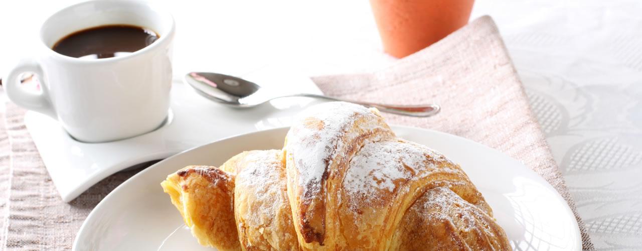 Das Frühstück Hotel Mediterraneo