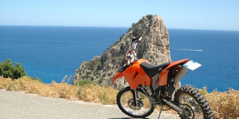 Excursiones en moto Hotel Mediterraneo