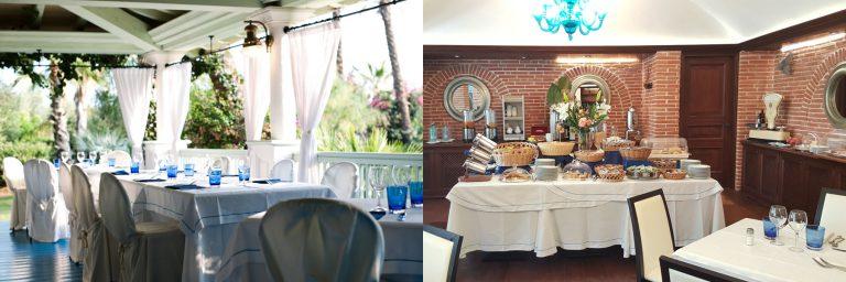 Das Restaurant Hotel Mediterraneo
